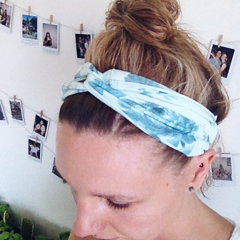 5 minute DIY headbands